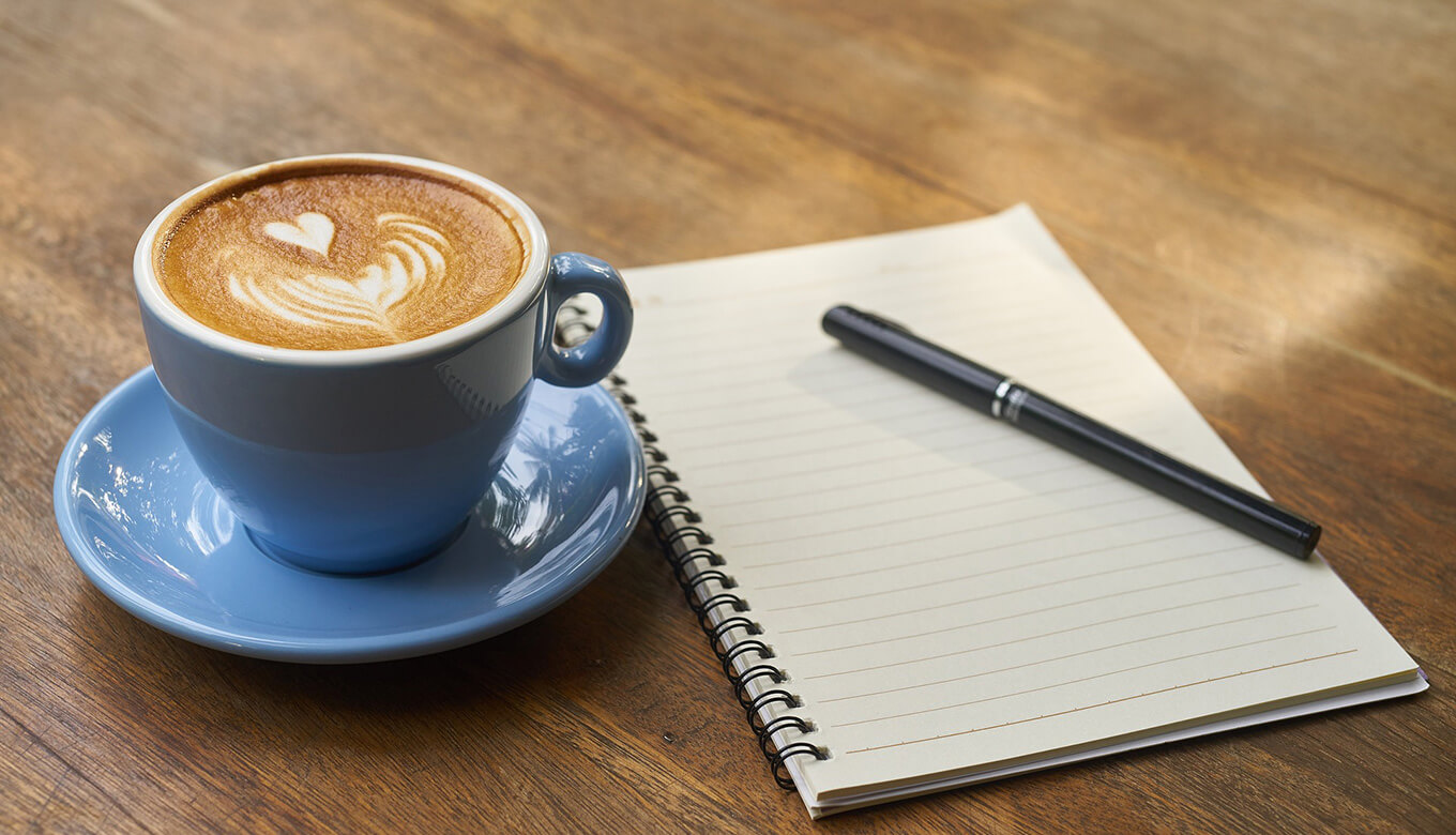 note-and-coffee