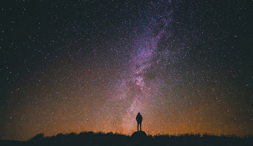 星空を見て宇宙を身近に感じよう!